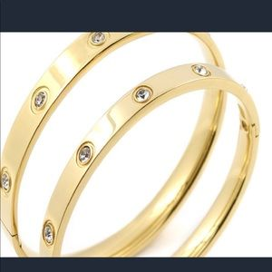 Jewelry - Gold plated cuff bracelet